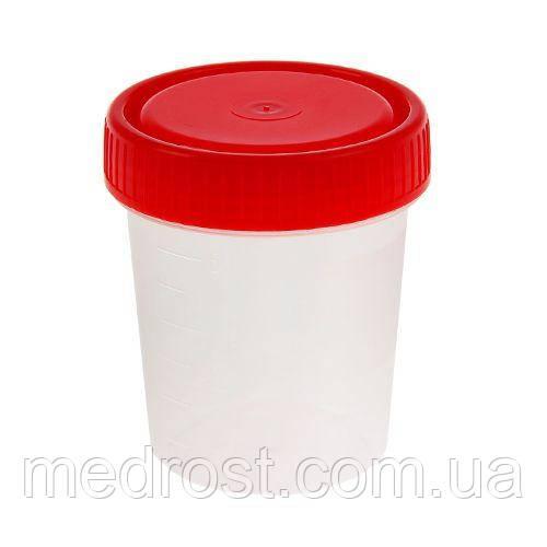 Емкость (контейнер) 125 мл стерильный
