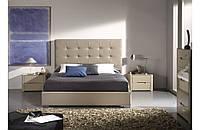 """Двухспальная кровать """"Орео"""" с оббивкой от производителя, фото 1"""