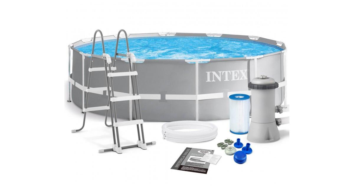 Каркасный бассейн Intex 26716, 366 x 99 см (2 006 л/ч, лестница)