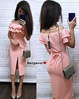Женское стильное летнее легкое платье РАЗНЫЕ ЦВЕТА