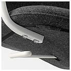 IKEA LANGFJALL Рабочий стул, темно-серый, белый  (292.528.65), фото 6