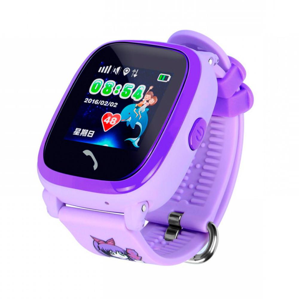 Детские смарт-часы BABYGPS Q300 AQUA Original Фиолетовые (BABYGPSQ300SBL Purple)