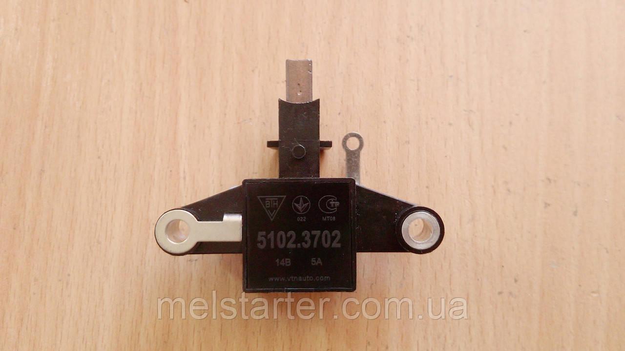 Регулятор напряжения 5102.3702 (ВАЗ-2108i, ВАЗ-2109i, ВАЗ-2110i, 5102.3771) 14,5В, 5А