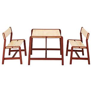 IKEA YPPERLIG Детский стол с 2 скамейками  (692.600.81)