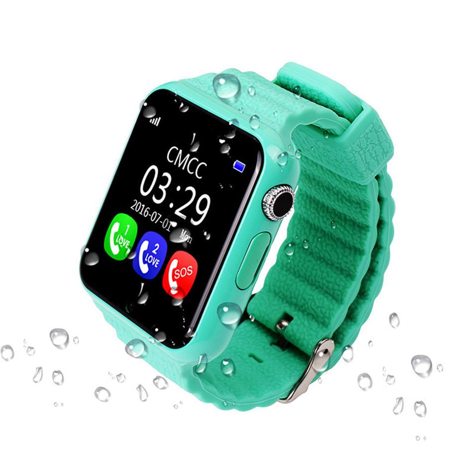 Детские смарт-часы BABYGPS V7K Original Зеленые (BABYGPSV7KBL Green)