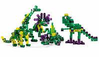 Детский конструктор 1408 Kiditec Jurassic life 377 деталей (3718)