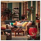 IKEA SOLLERON 3-местный модульный угловой садовый диван, коричневый, Фрезен/дувхолмен (592.526.56), фото 2