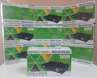 Цифровой эфирный DVB-T2 World Vision T65M тюнер приставка декодер ресивер Т2