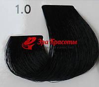 Стойкая краска для волос 1.0 Чёрный ECS, 100 мл