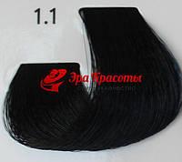 Стойкая краска для волос 1.1 ECS, 100 мл