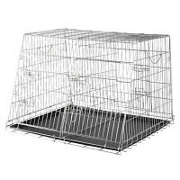 Клетка (90*64*79см) для собак двойная транспортная, Trixie 3930