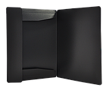 Папка на резинках А4 JOBMAX пластиковая черная, фото 2
