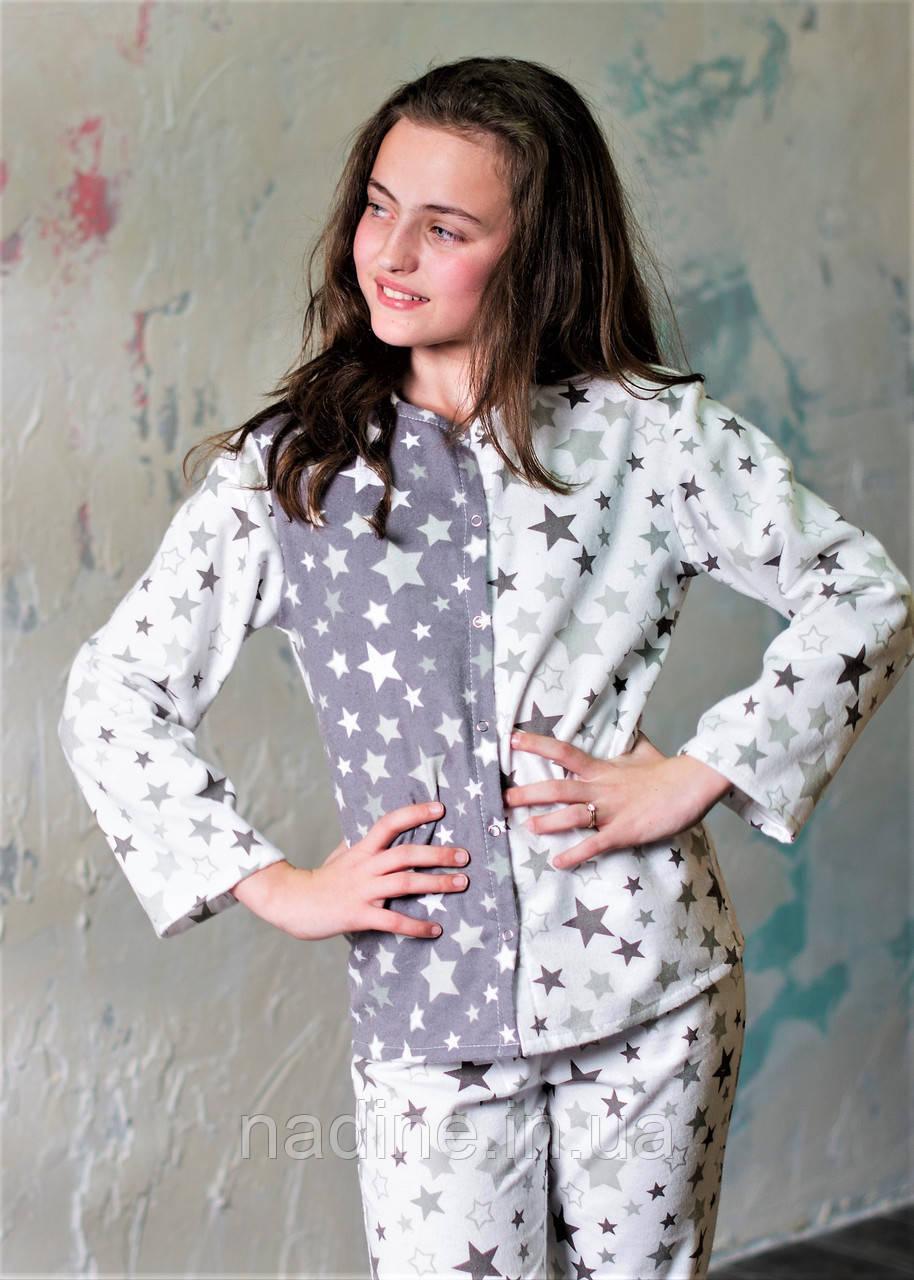 Подростковая пижама на девочку Eirena Nadine (753-52) 152/38 Белая