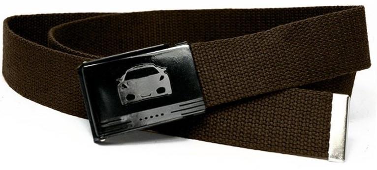 Тканевый ремень стропа Always Wild XW-TK20-2 коричневый 3,7 см