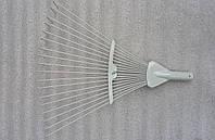 Грабли веерные раздвижные крашеные (серые), фото 1