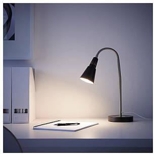 IKEA KVART Наcтольная лампа, черный  (601.524.58)