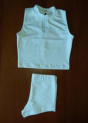 Комплект майка американка + короткие трусы- шорты 4