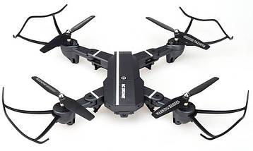 Квадрокоптер 8807 c WiFi и HD камерой, на пульте, складной корпус, радиоуправляемый коптер (летающий дрон), фото 3