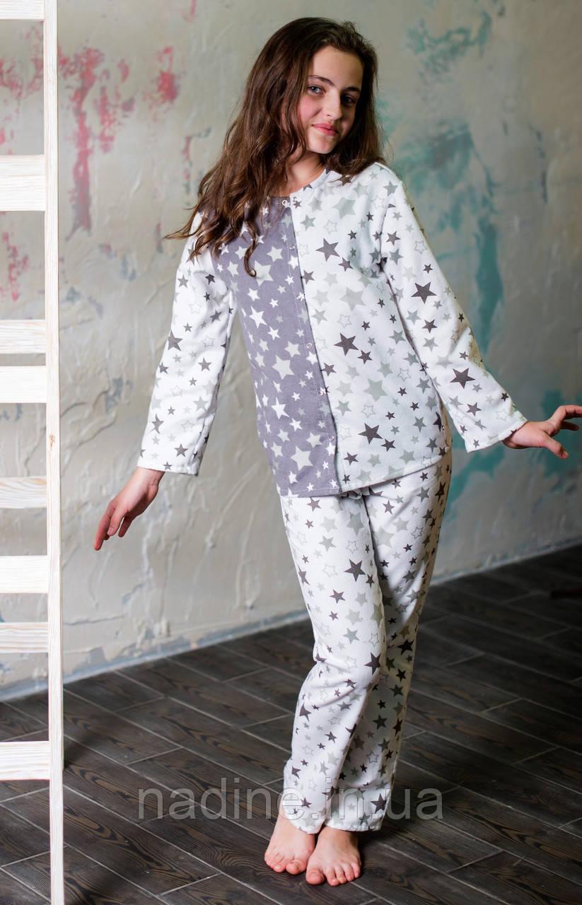 Пижама на девочку подростка Eirena Nadine (753-58) 158/40 Белая