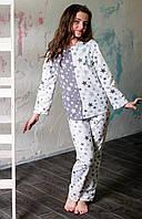 Пижама на девочку подростка Nadine (753-58) 158/40 Белая