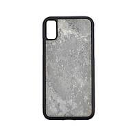 Чехол Organic TPU Gray Mountain Натуральный Камень для Apple iPhone X Grey (ORG-007-10)