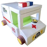 Детский модуль трансформер Скорая помощь (сенсорная игровая мебель)