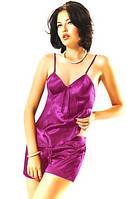 Комплект: маечка + трусики шортики. Пижама шелк. Разные размеры и цвета. Опт и розница.