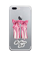 Чехол Print fashion для iPhone 8 Plus с принтом Fashion girl (r_i 1)