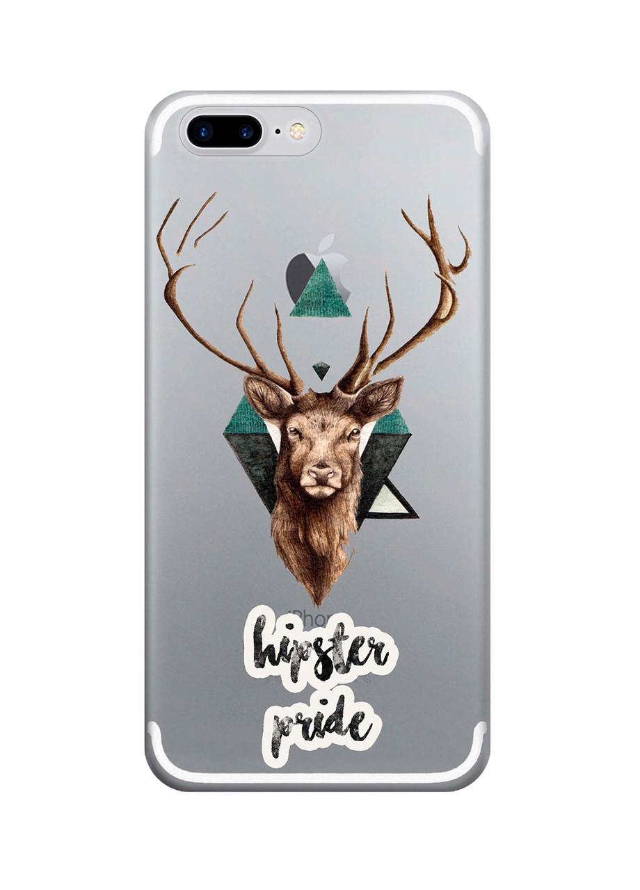 Чехол Print fashion для iPhone 8 Plus с принтом Hipster pride (r_i 12)