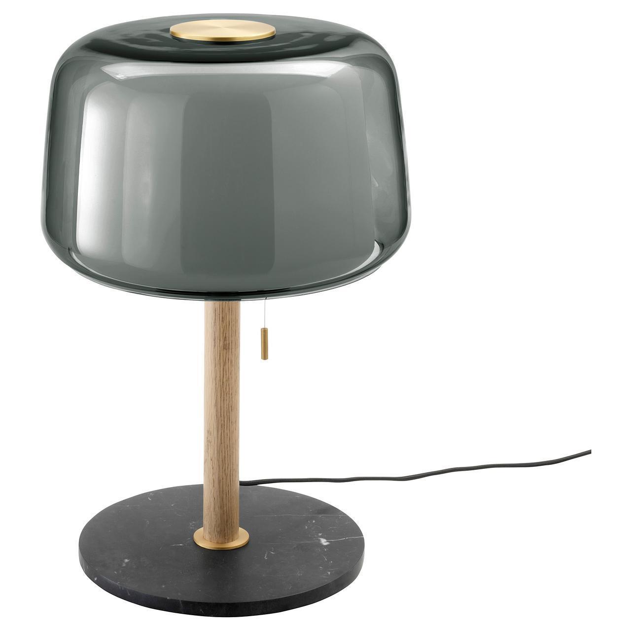 IKEA EVEDAL Наcтольная лампа, серый  (104.057.31)