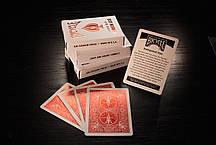Карты игральные | Bicycle MetalLuxe Crimson, фото 2