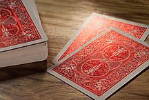 Карты игральные | Bicycle MetalLuxe Crimson, фото 3