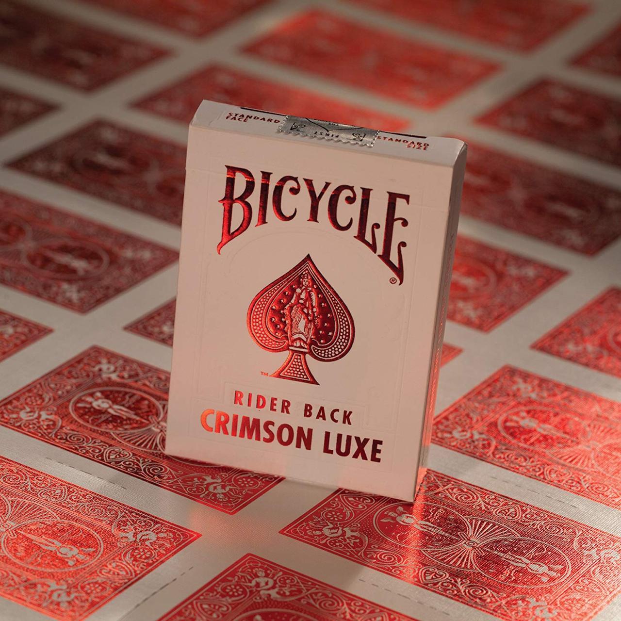 Карты игральные | Bicycle MetalLuxe Crimson