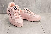 Кроссовки B 1126 -8 (Fila Disruptor 2) (весна/осень, женские, искусственная кожа, розовый)