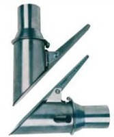 Насадка на выхлопную трубу из нержавеющей стали для отвода СО под шланг диаметром  75  ВОС 75/100 Filcar Итали