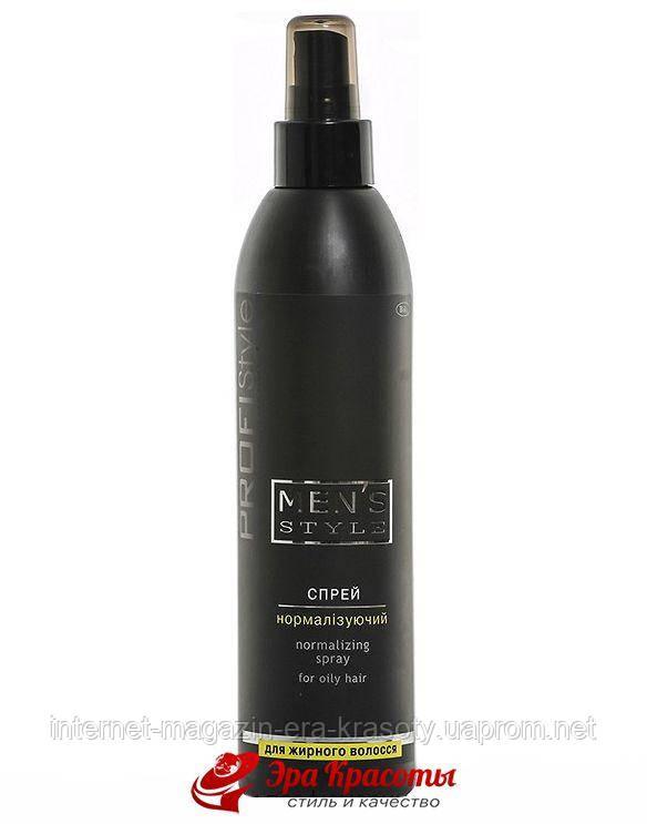 Спрей для мужчин Нормализирующий для жирных волос Mens Style Profistyle, 250 мл