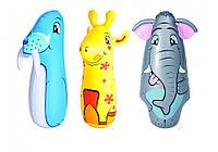 Надувная игрушка неваляшка Bestway 52152 (игрушка для боксирования): размер 91см, 3 вида
