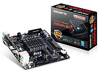 Мат.плата с процессором Gigabyte GA-J1800N-D2H, Celeron J1800 (2x2.4GHz), 2xDDR3 SO-DIMM, Intel HD Graphics, 2xSATA2, 1xPCI-E 1x, ALC887, GLan,