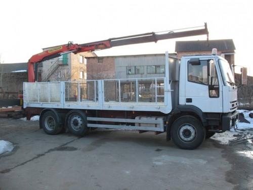 Аренда манипулятора Iveco 16 тонн