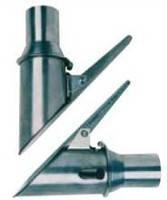 Насадка на выхлопную трубу из нержавеющей стали под шланг диаметром  75  ВО 75/100 Filcar Италия