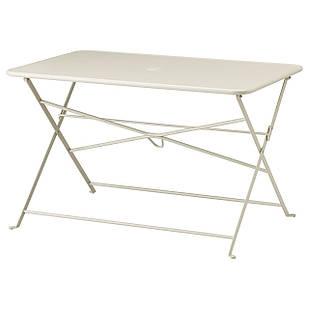 IKEA SALTHOLMEN Садовый раскладной стол  бежевый  (603.684.96)