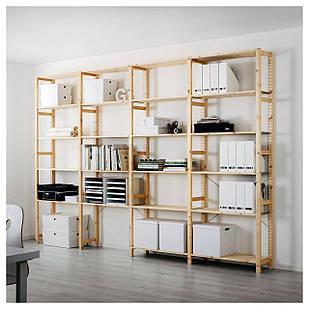 IKEA IVAR Стеллаж, сосна  (498.977.61)