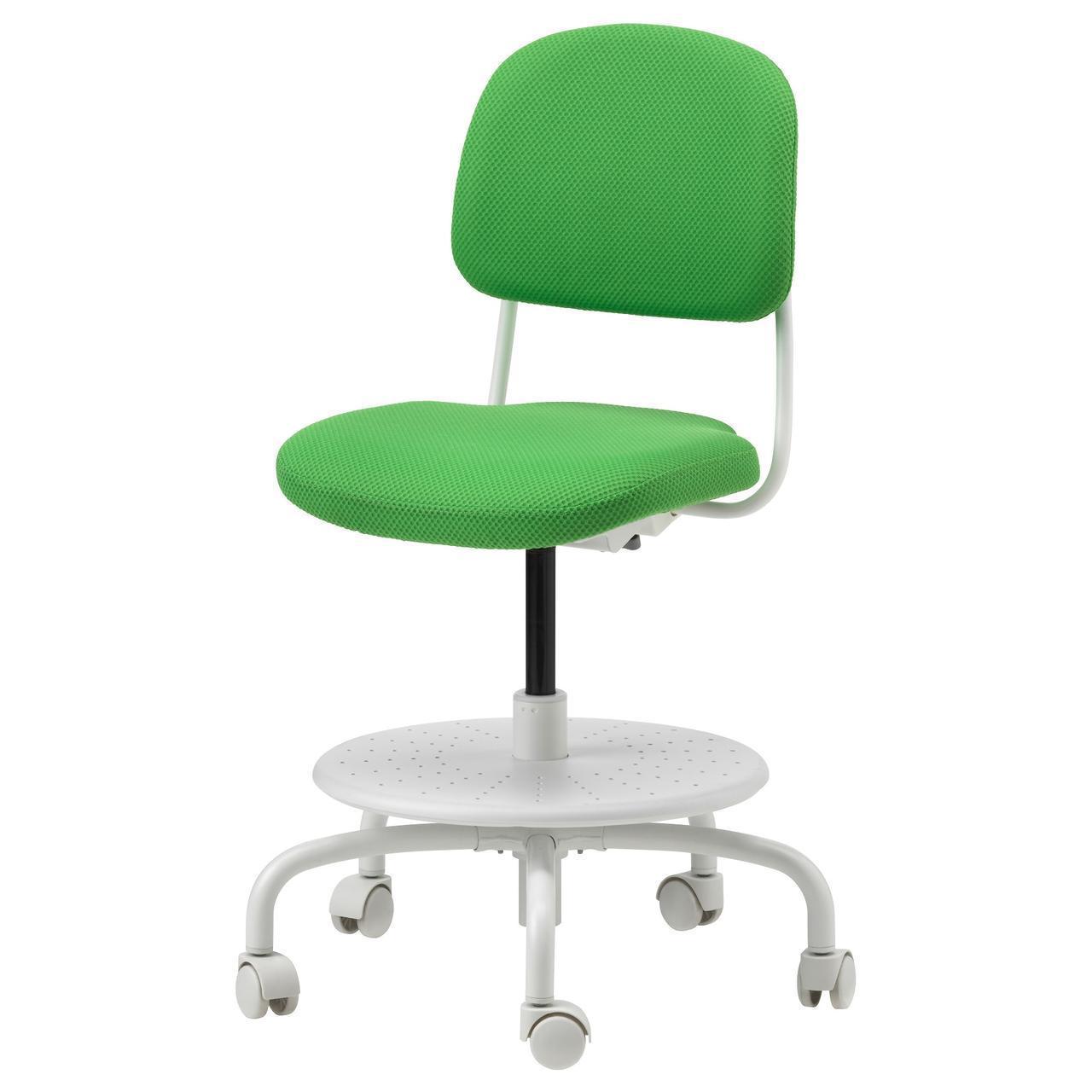 IKEA VIMUND Детский рабочий стул, ярко-зеленый  (503.086.67)