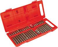 Насадки шестигранные Spline, Torx, набор 40 шт. Top Tools 39D377.