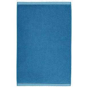 IKEA VIKFJARD Коврик для ванной, синий  (003.916.97)