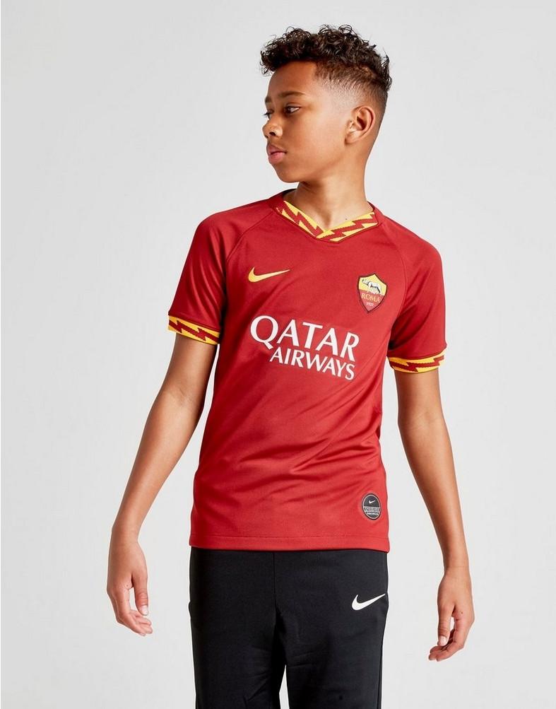 Детская футбольная форма 2019/20 Рома, домашняя