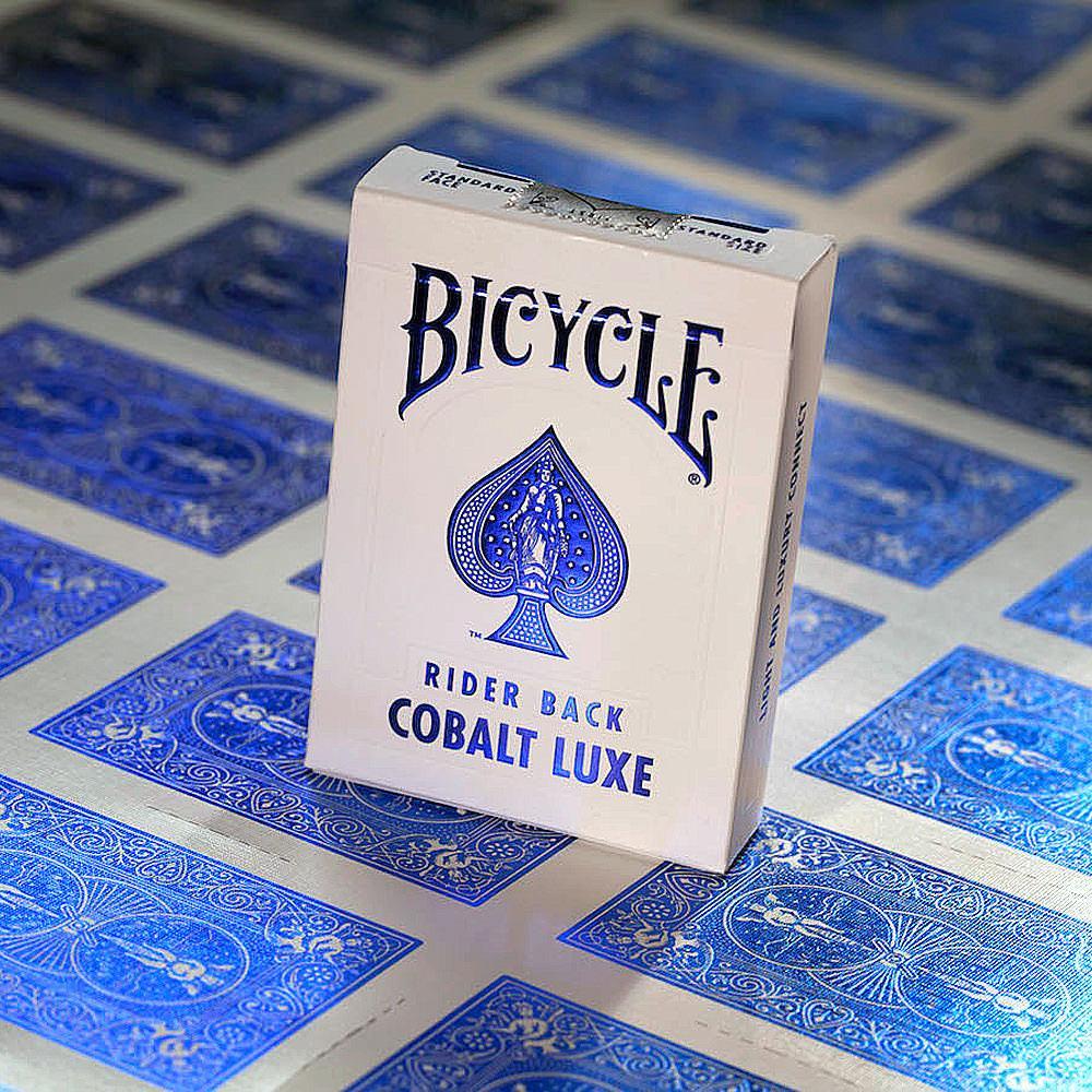 Карты игральные | Bicycle MetalLuxe Cobalt
