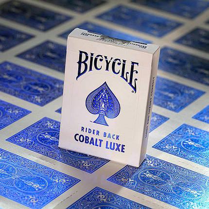 Карты игральные | Bicycle MetalLuxe Cobalt, фото 2