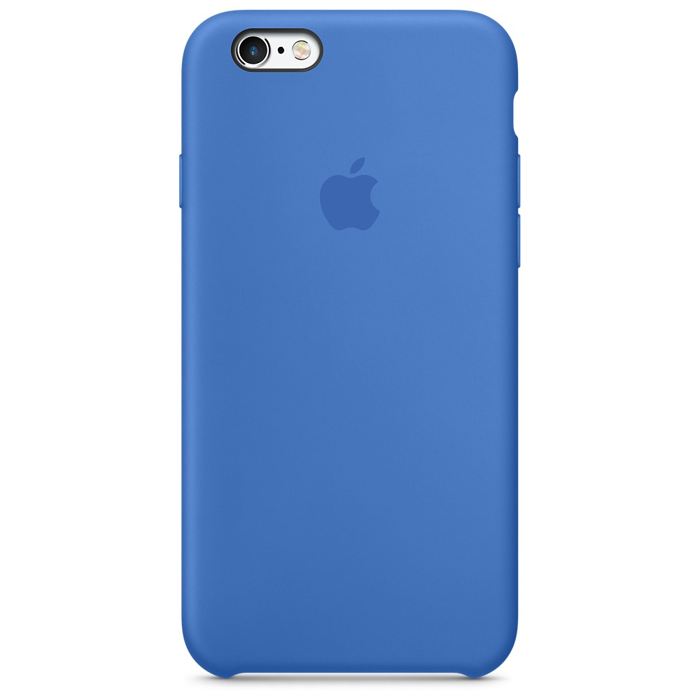 Чехол-накладка Silicone Case для iPhone 6 Plus/6s Plus Синий (13398)