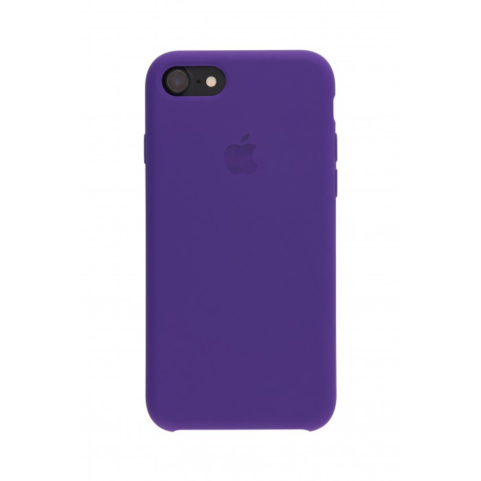 Панель Silicone Case для iPhone 7/8 Фиолетовый (13837)